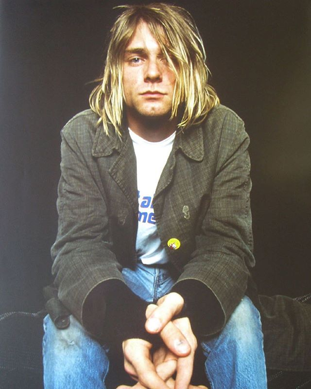 We lost you 25 years ago but your voice has stayed steady ringing this whole time. Thank you for making it okay for me to be a weird teenage loser freak. Thank you for giving me a voice, thank you for helping me find myself. I'm so sorry you lost your fight, your music will keep swing in your place. Riff in peace Kurt ♡