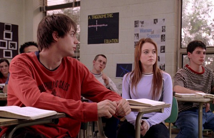 """On October 3rd, he asked me what day it was.  """"Mean Girls,"""" 2004"""