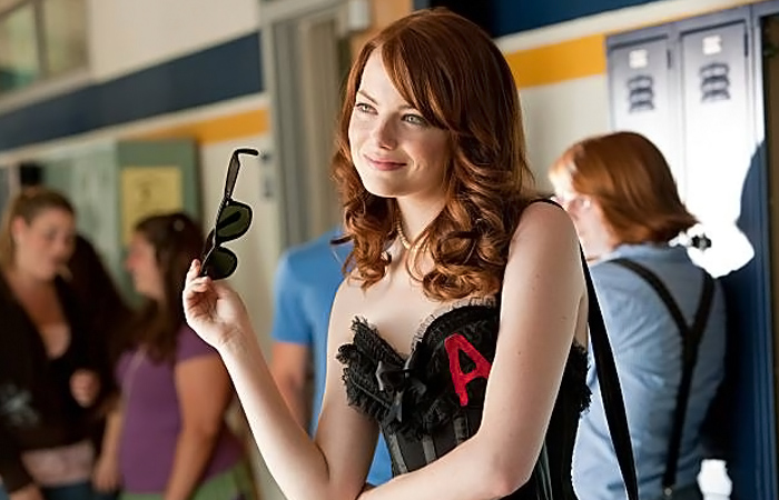 """A is for Awesome!  """"Easy A,"""" 2010"""