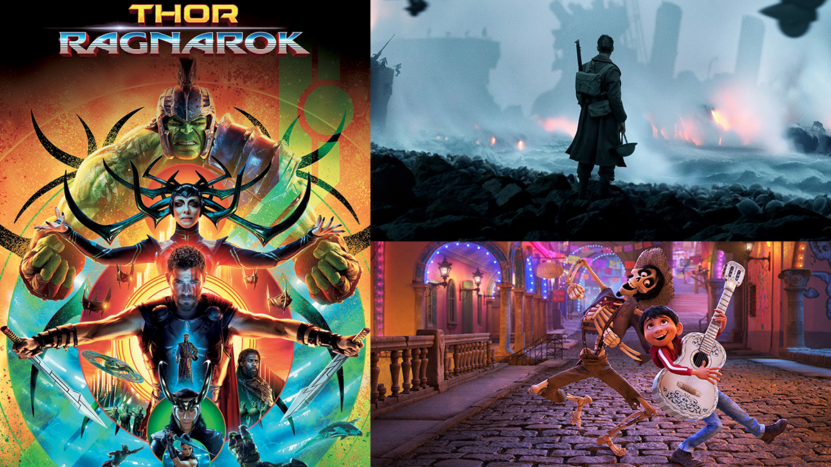 Photos courtesy of Marvel, Warner Bros. and Pixar