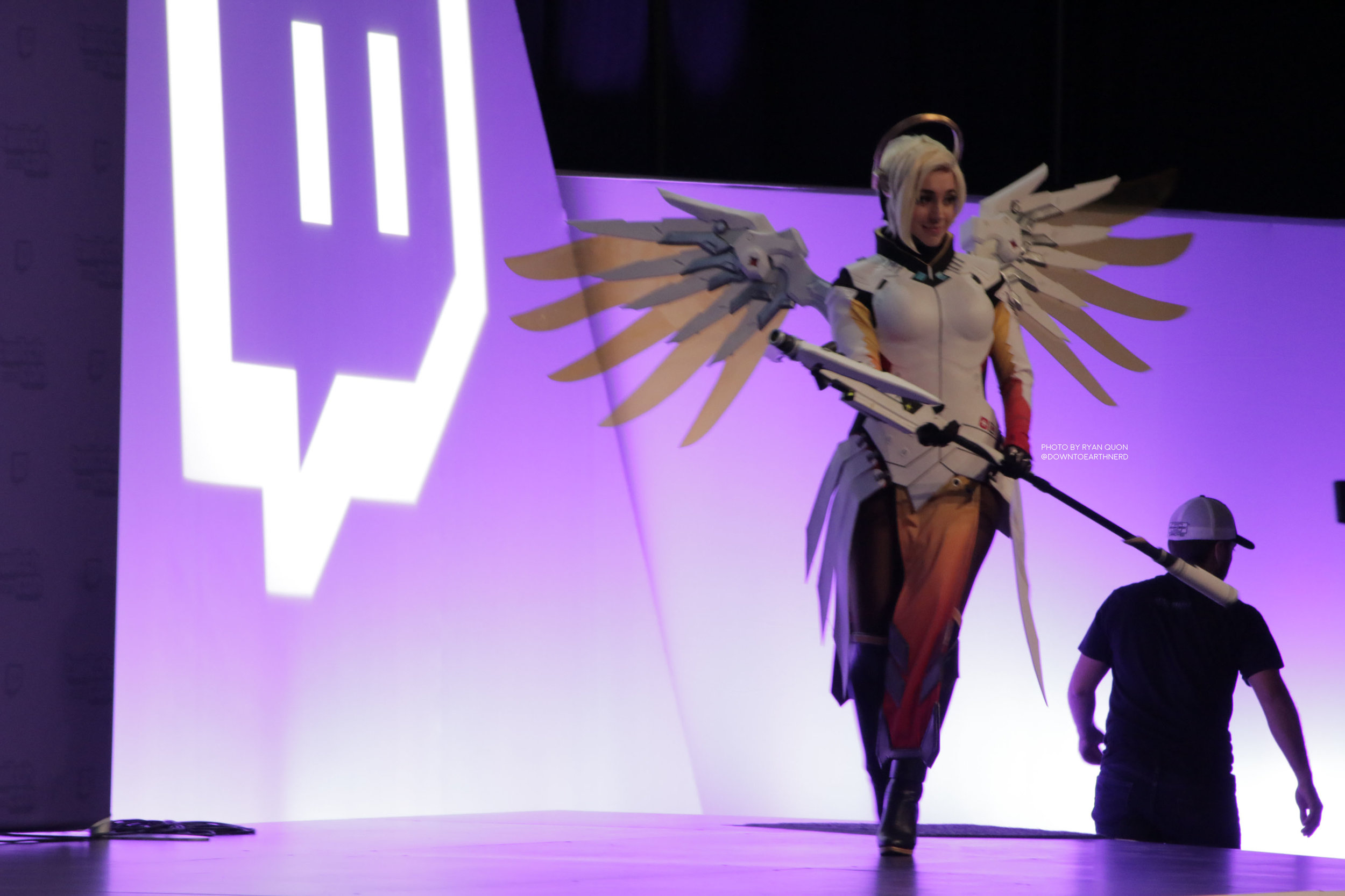 @ashleyoshley Cosplayer from Canada. She won best in her class at Twitch Con 2016