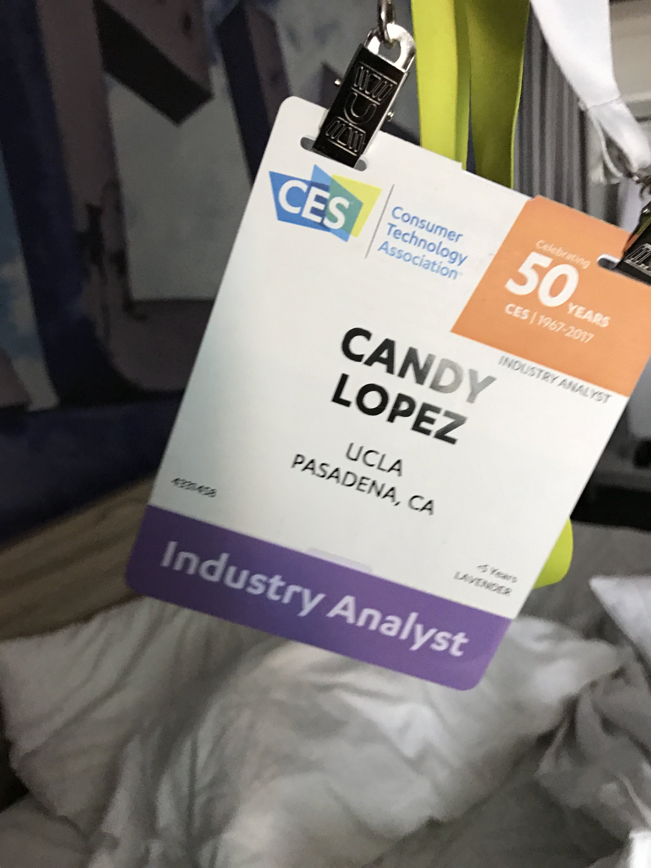 OMG my first Analyst Badge...so excited.