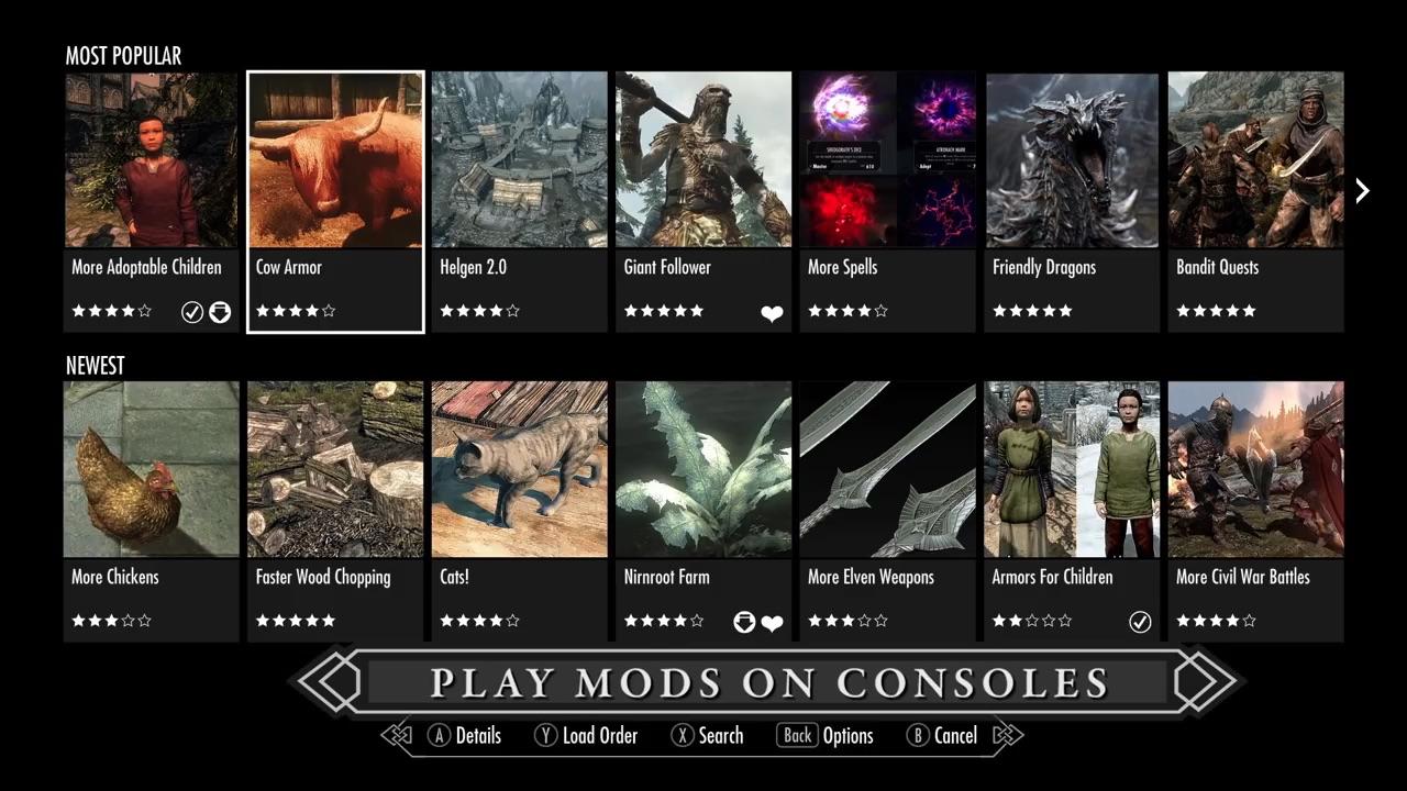 WHAAAAT???? MODS ON CONSOLES???   Eurogamer.net