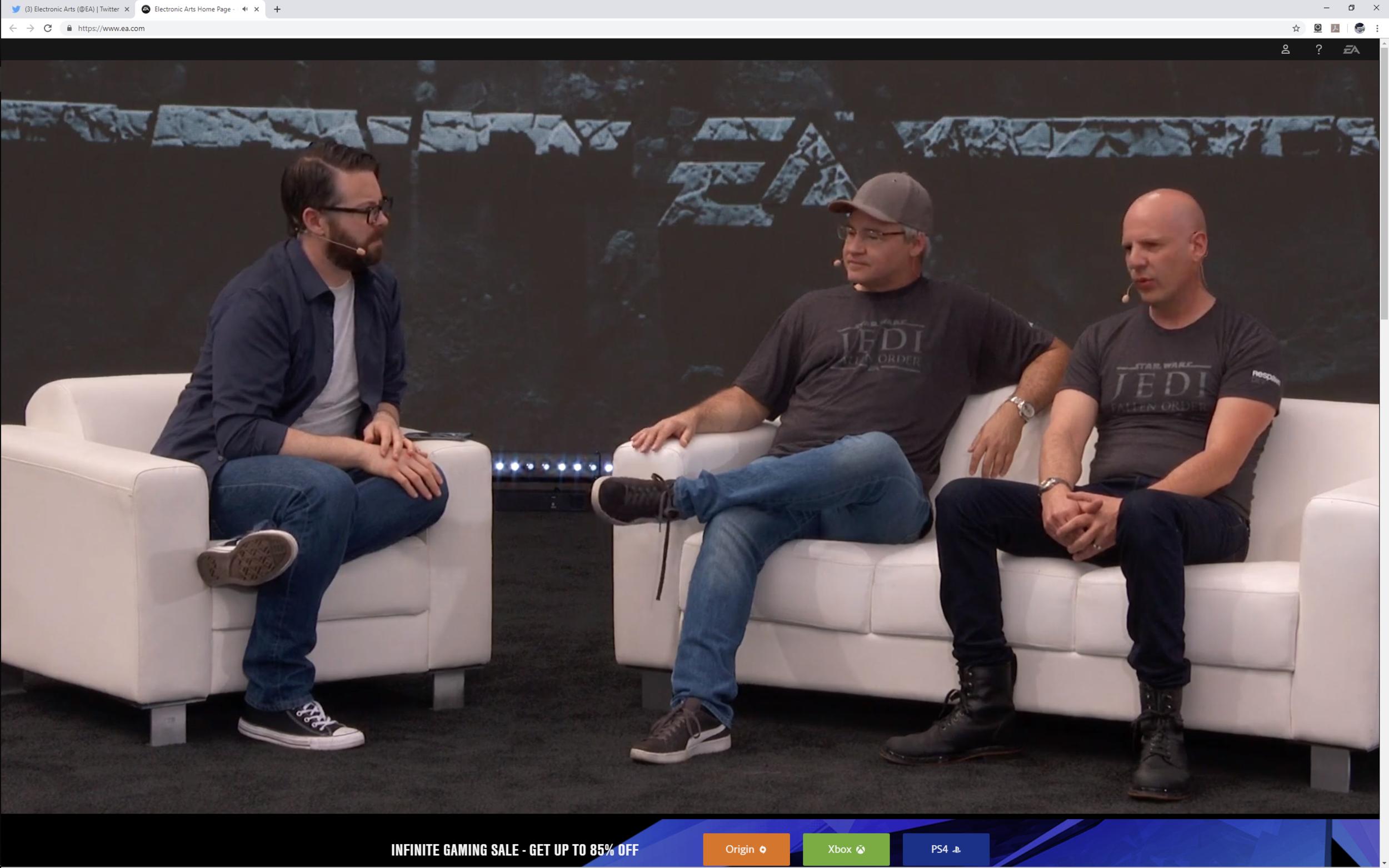 Fallen Order EA at E3 2019