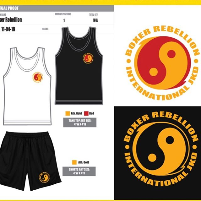 between my regular 12 hour day job I am designing  shorts and tank tops for our group's main instructor Sifu Mark Stewart. these will be utilized in a full production training video coming soon! #thailand #jkd #martialarts #kungfu #jeetkunedo