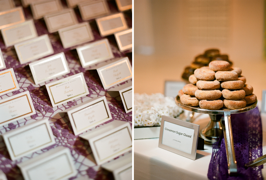 milwaukee art museum wedding donuts