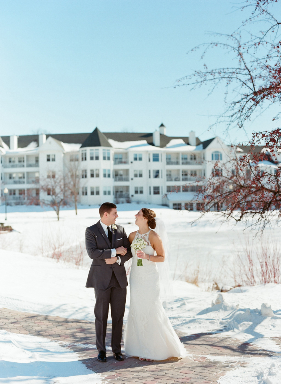 osthoff resort winter wedding