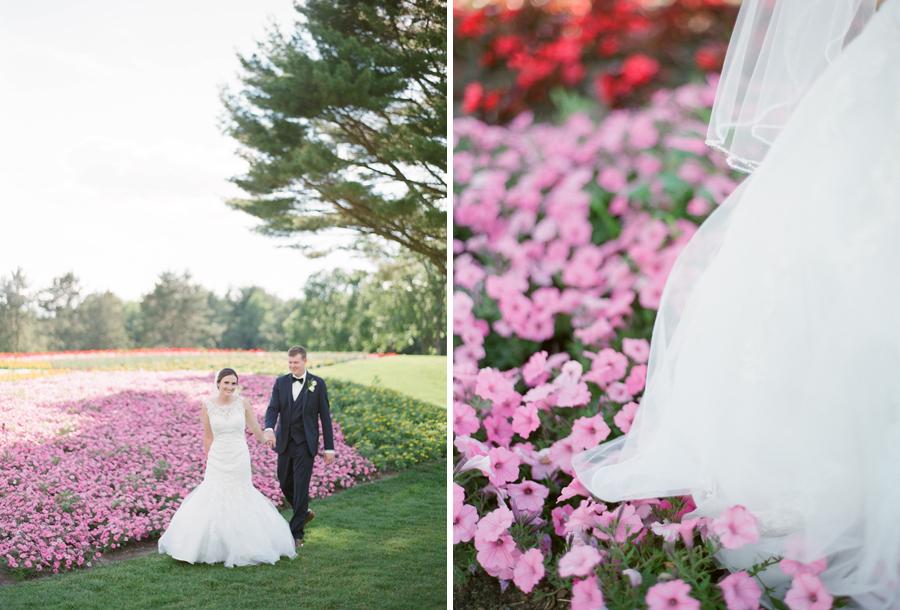 sentry world garden hole bridal portraits