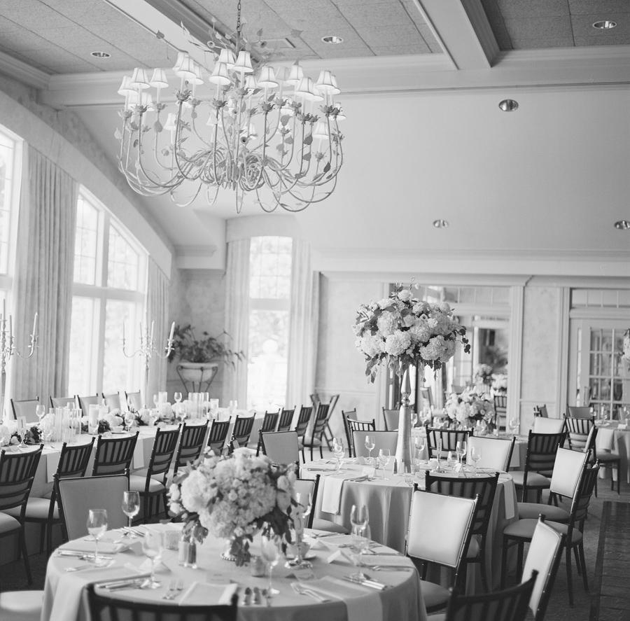 oneida country club wedding reception decor