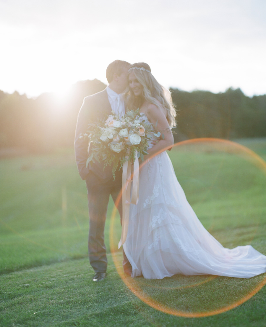wausau sunset wedding portraits