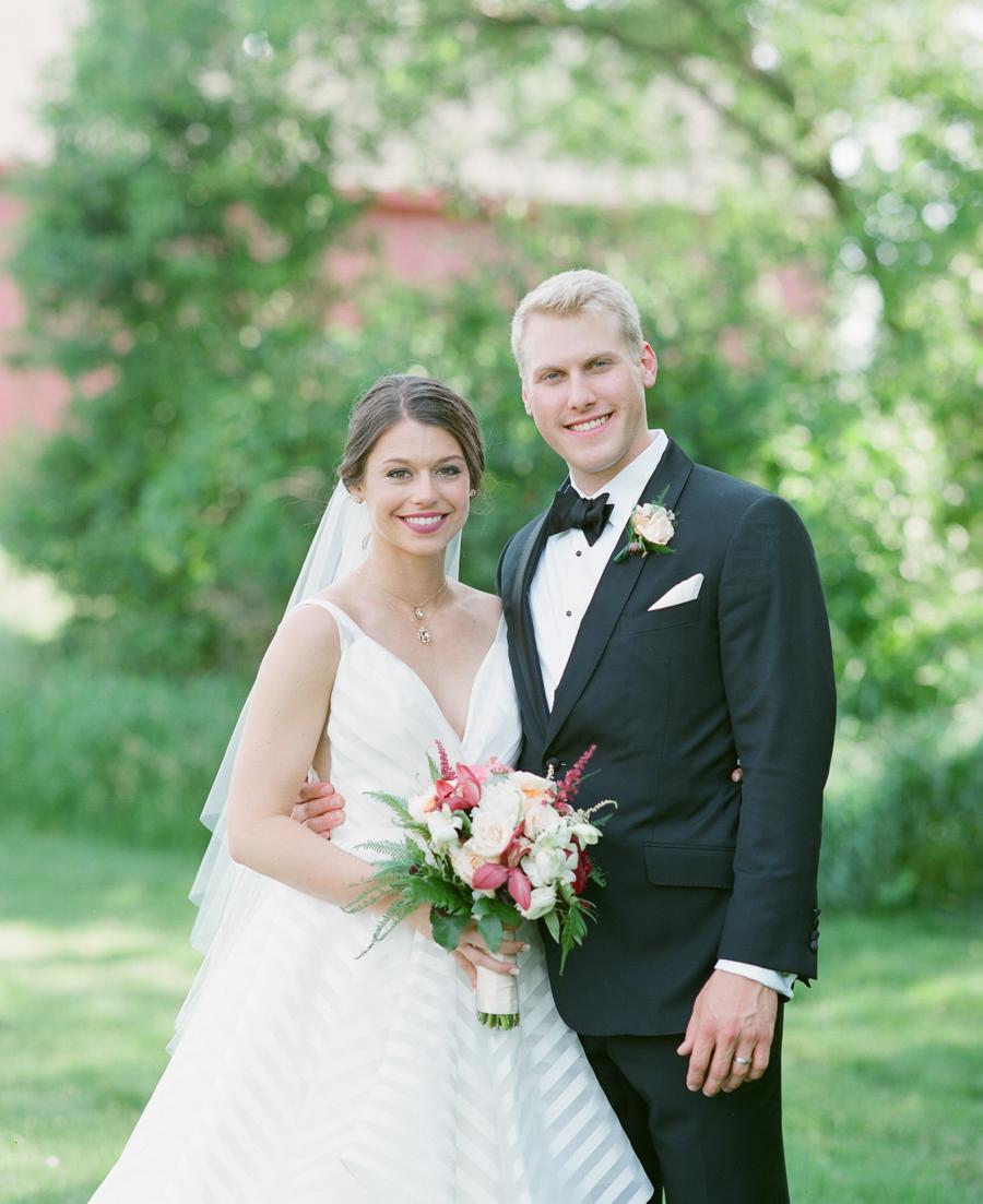 backyard wausau, wi wedding