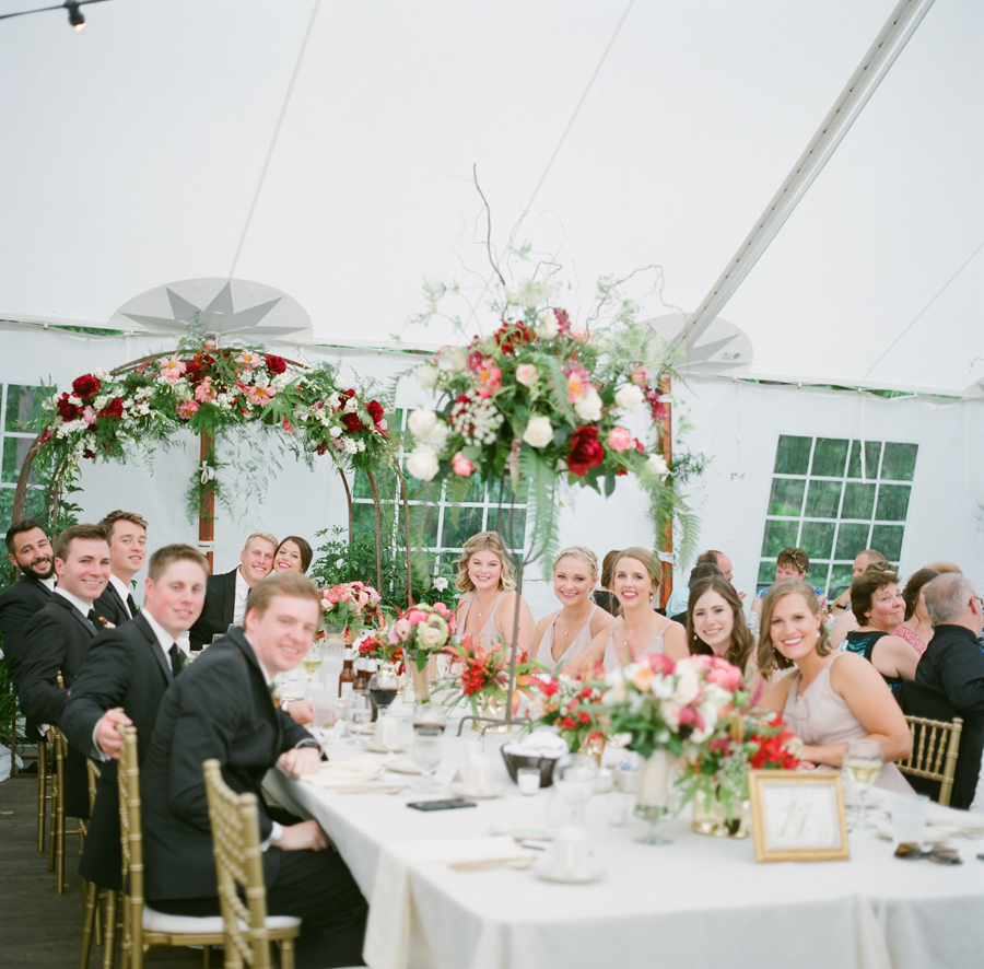 backyard wausau wedding reception