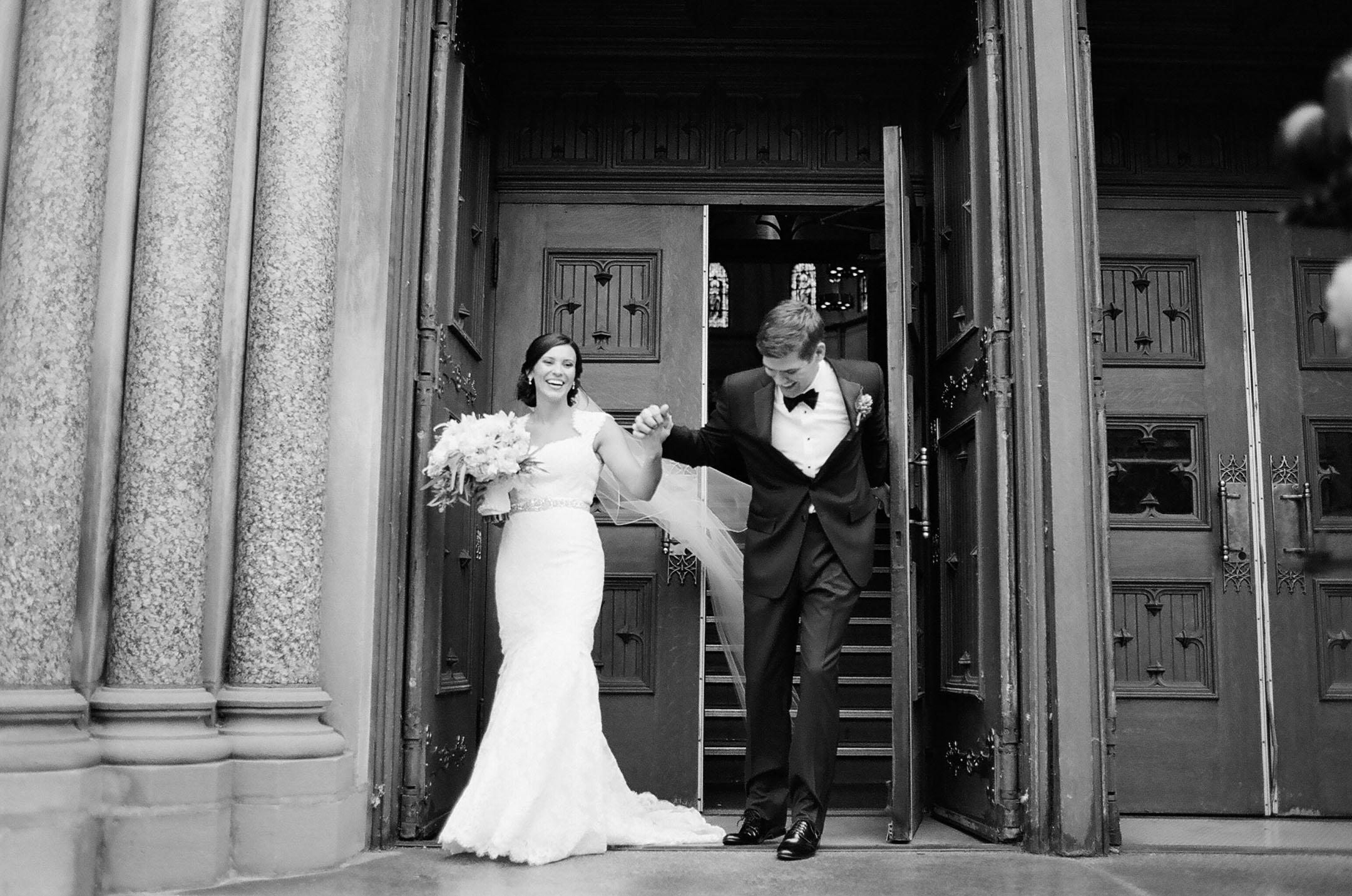Tori & Jon - Grain Exchange Milwaukee Wedding