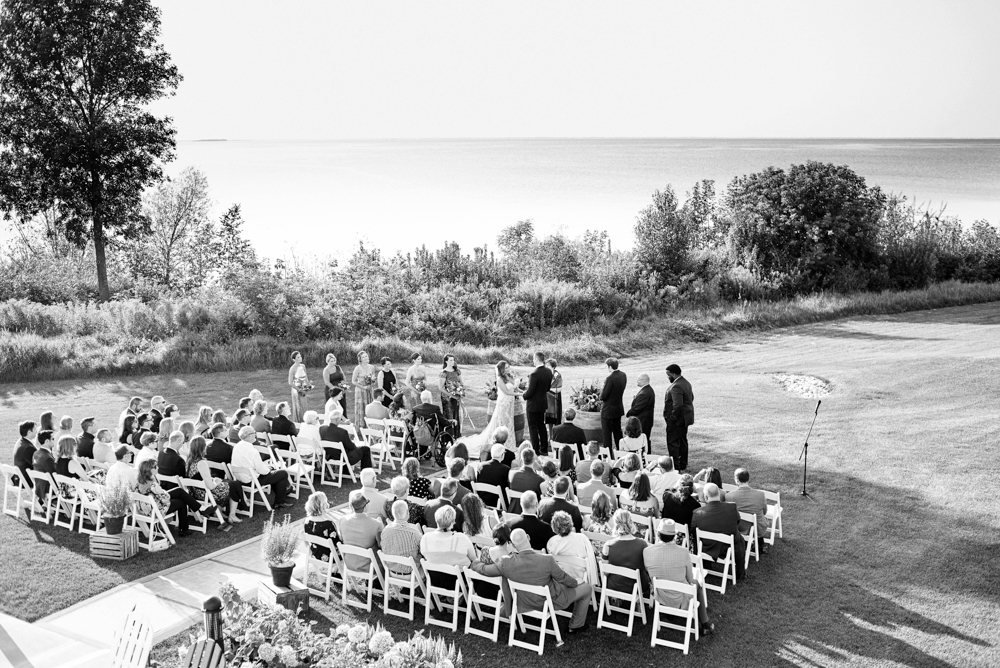 Door County Weddings at Horseshoe Bay Beach Club