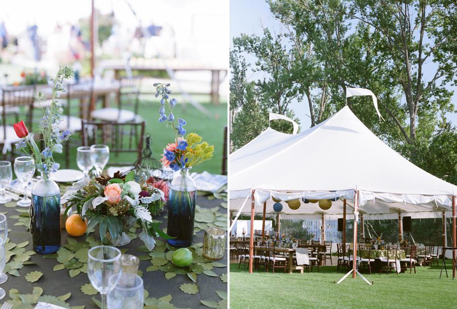 sail cloth wedding tent door county