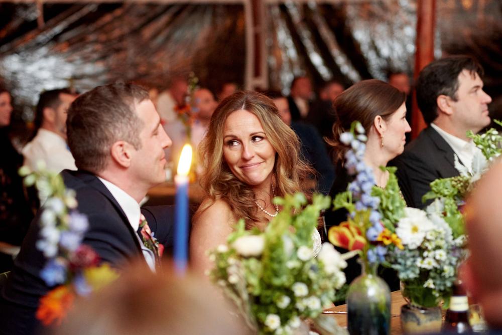 door county weddings at horseshoe bay beach club in a tent