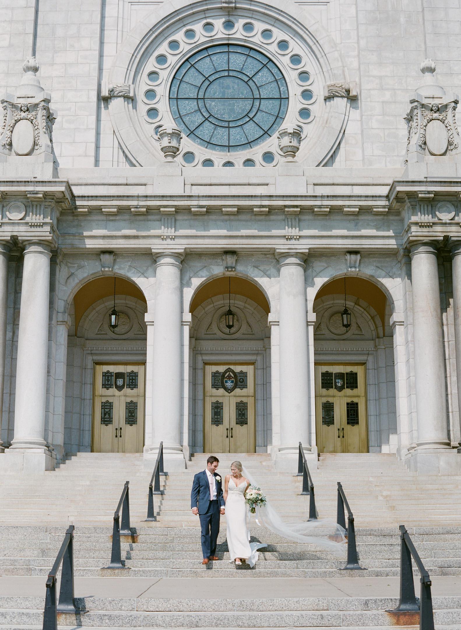 The basilica of saint mary wedding