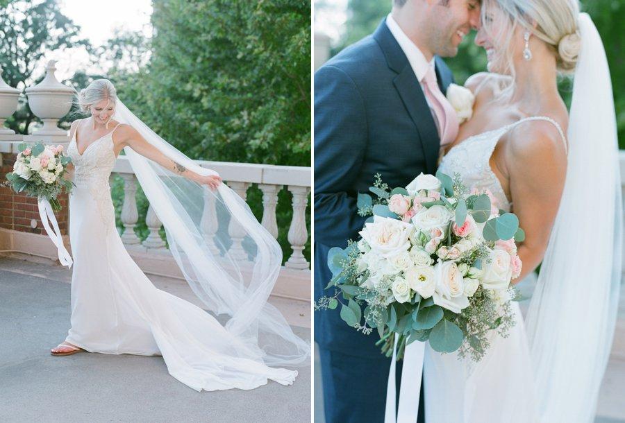 calhoun beach club wedding bride and groom