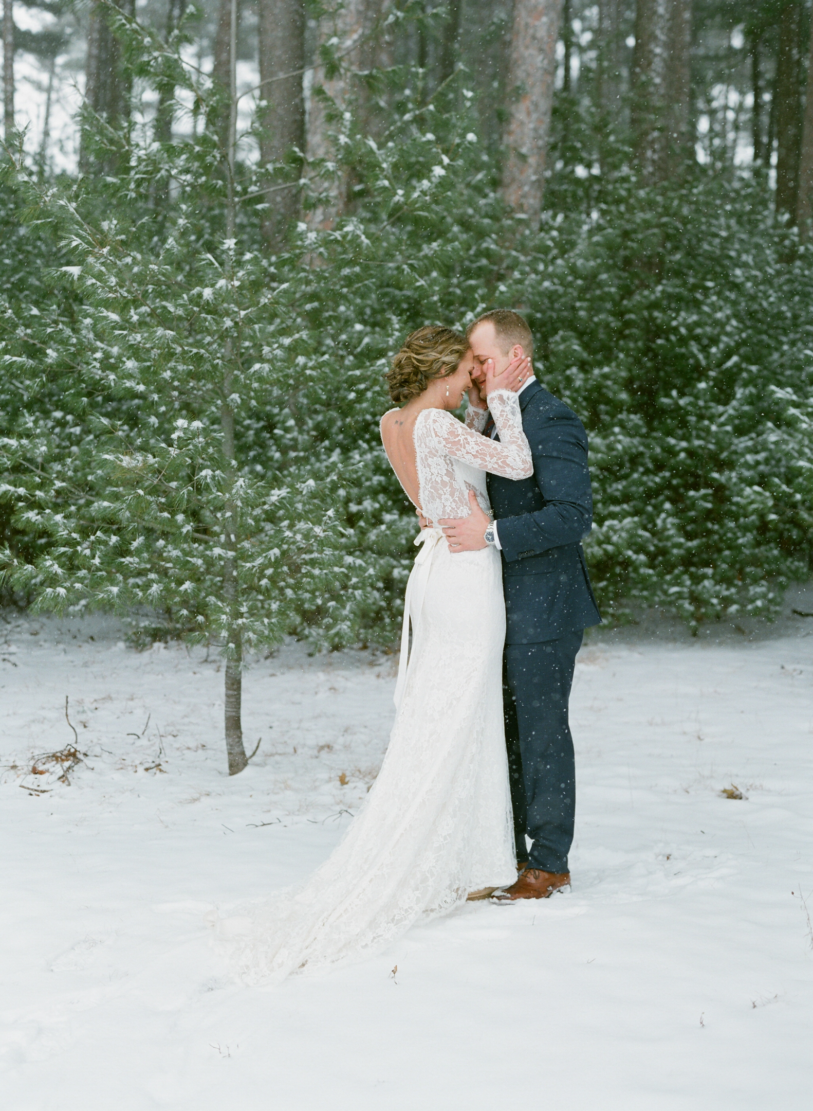 Rothschild Pavilion Winter Wedding portraits