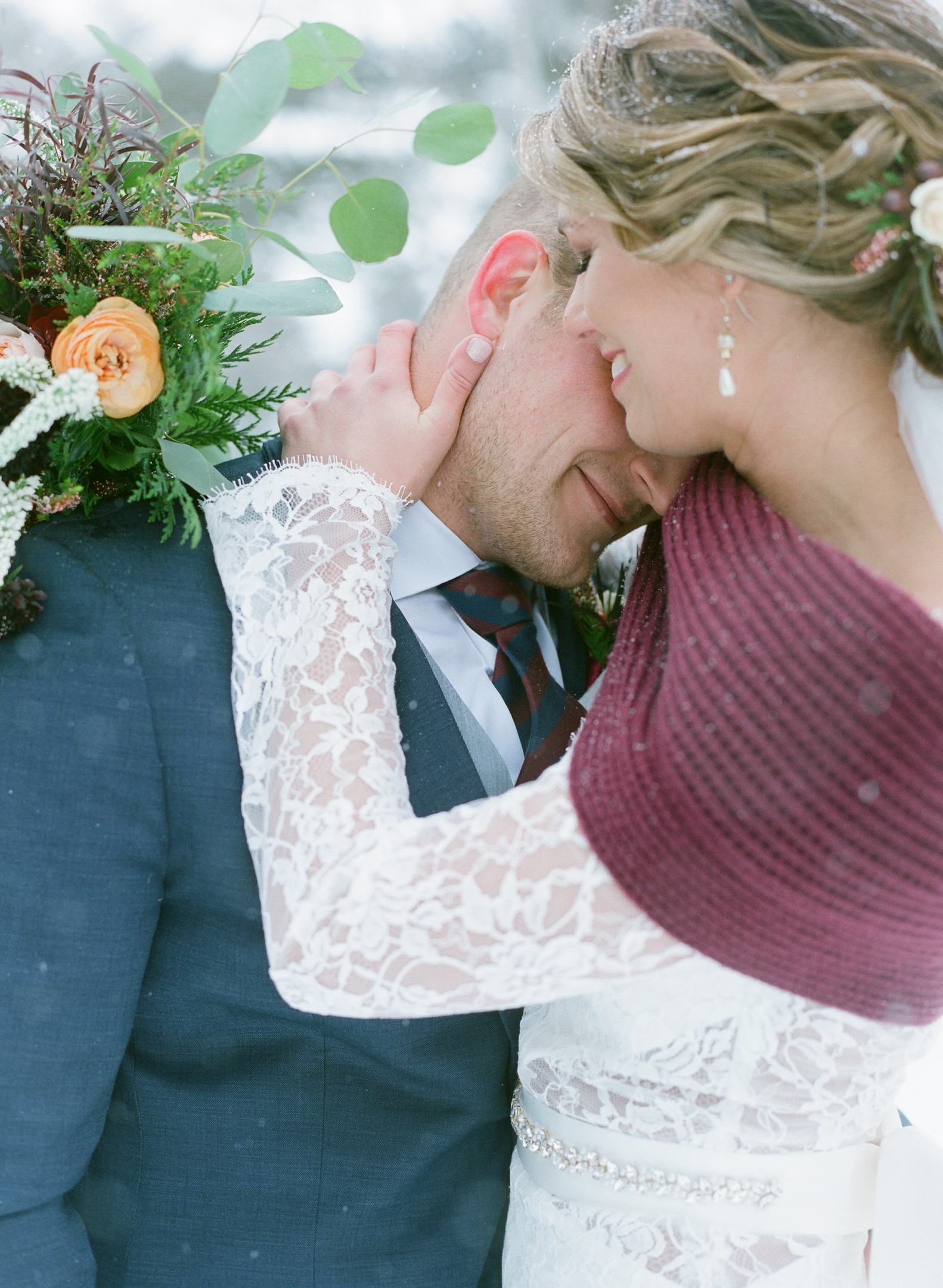 wisconsin winter wedding at the rothschild pavilion