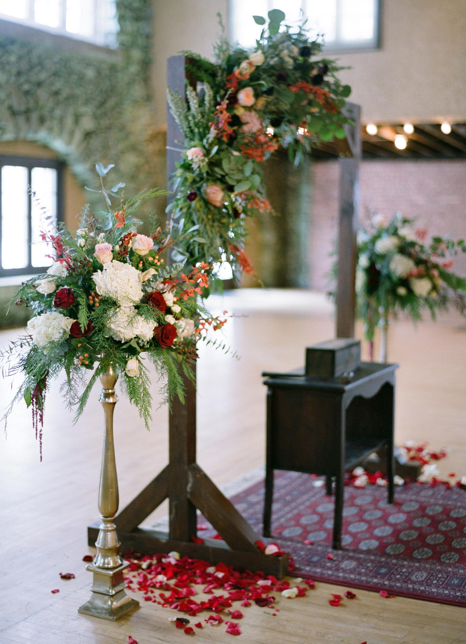 Rothschild Pavilion wedding ceremony decor