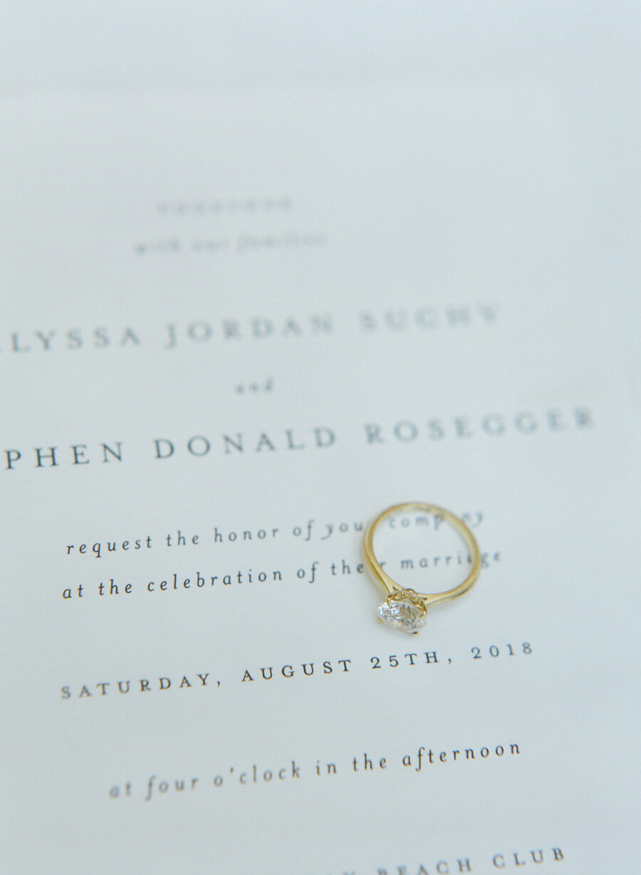 Door County Wedding invitations by Minted