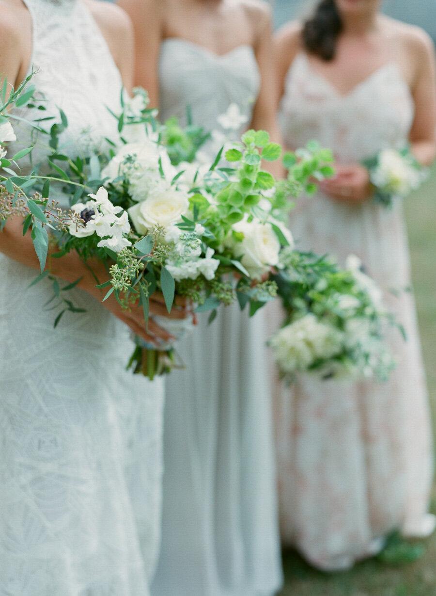 Brides bouquet by Helene of Flora Flowershop in Door County