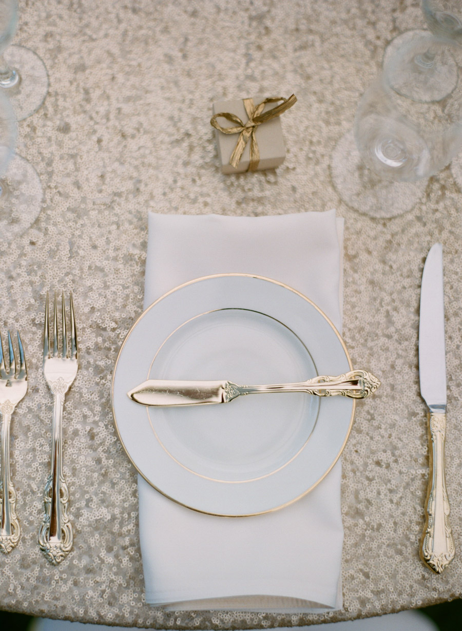 sister bay door county wedding place setting