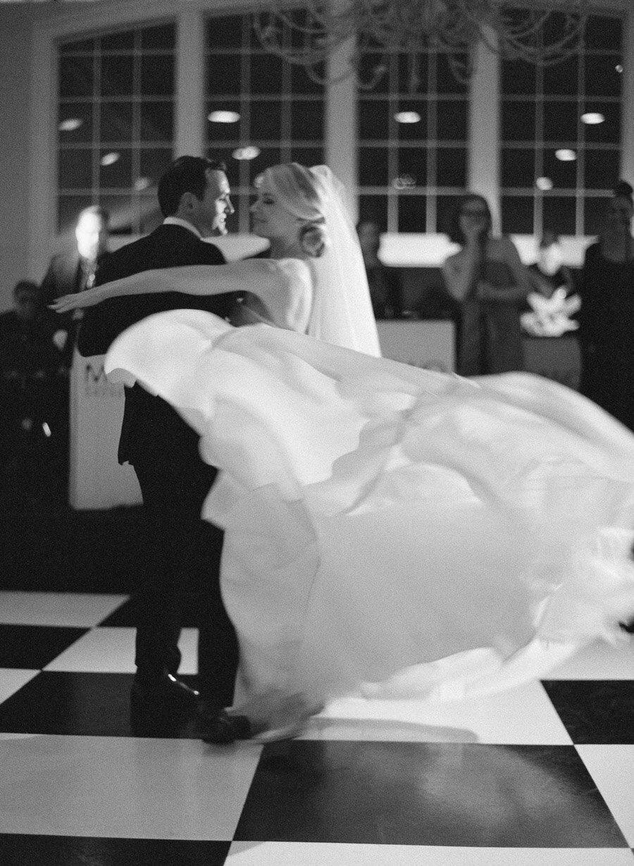Gallagher Wedding Green Bay Oneida Country Club first dance