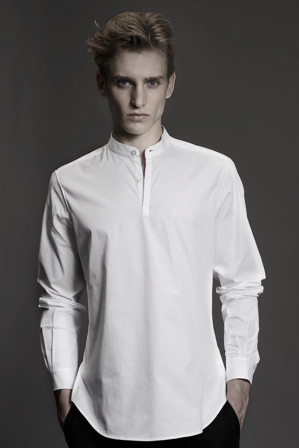 CONTEMPORARY SHIRT Colours: White 100% Cotton Made In Italy