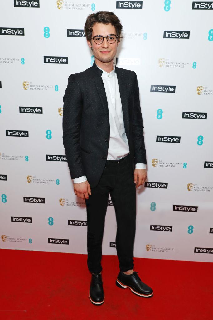 JACK BRETT ANDERSON CONTEMPORARY JACKET AND SHIRT INSTYLE BAFTA AWARDS FEB 2017