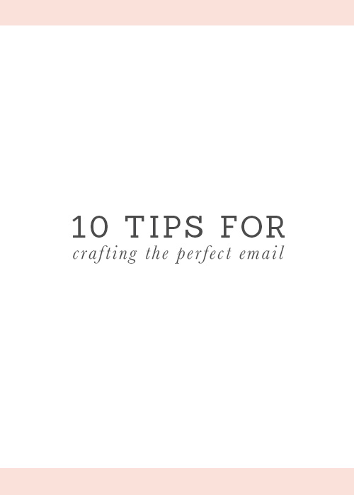 10 tips for better emails
