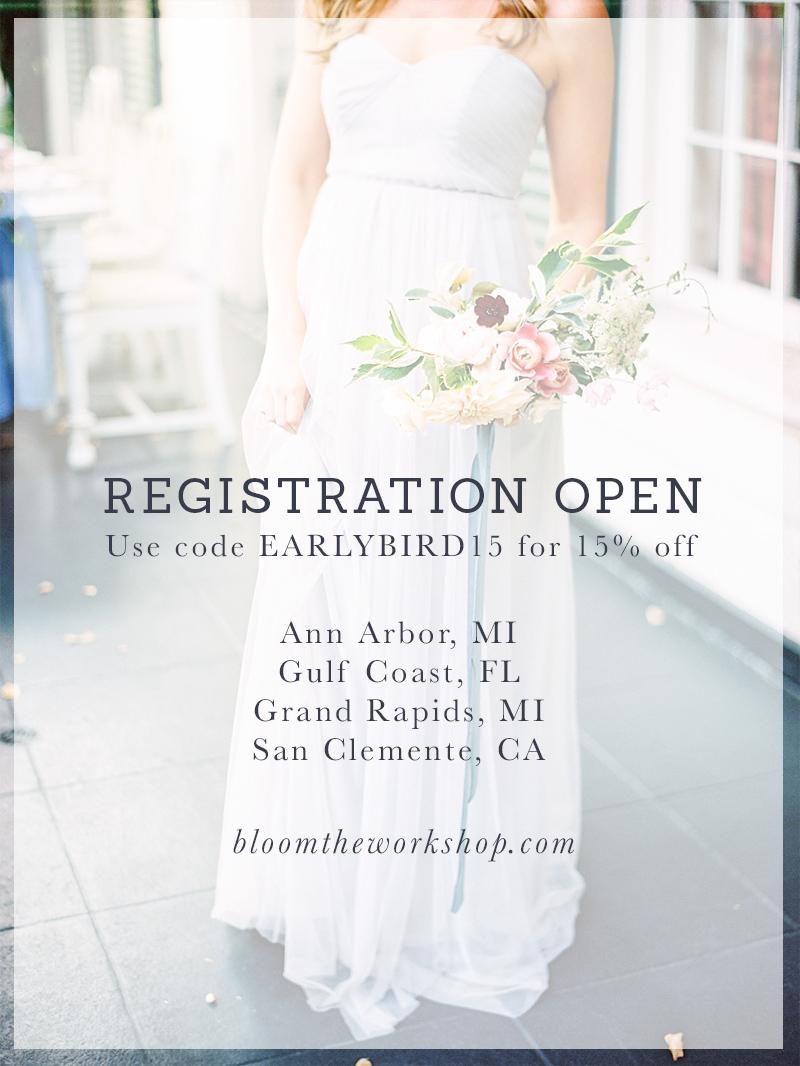 bloom workshop registration