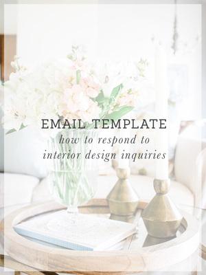 design inquiry template