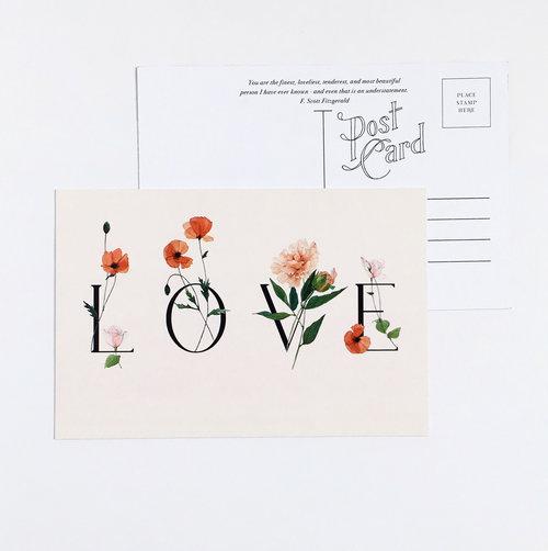 carleigh courey design postcard