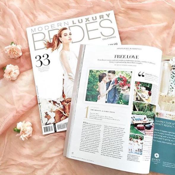 modern luxury brides magazine
