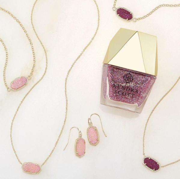 kendra scott jewelry and nail polish