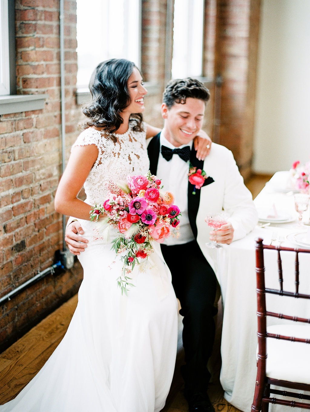 bloom bash chicago styled shoot