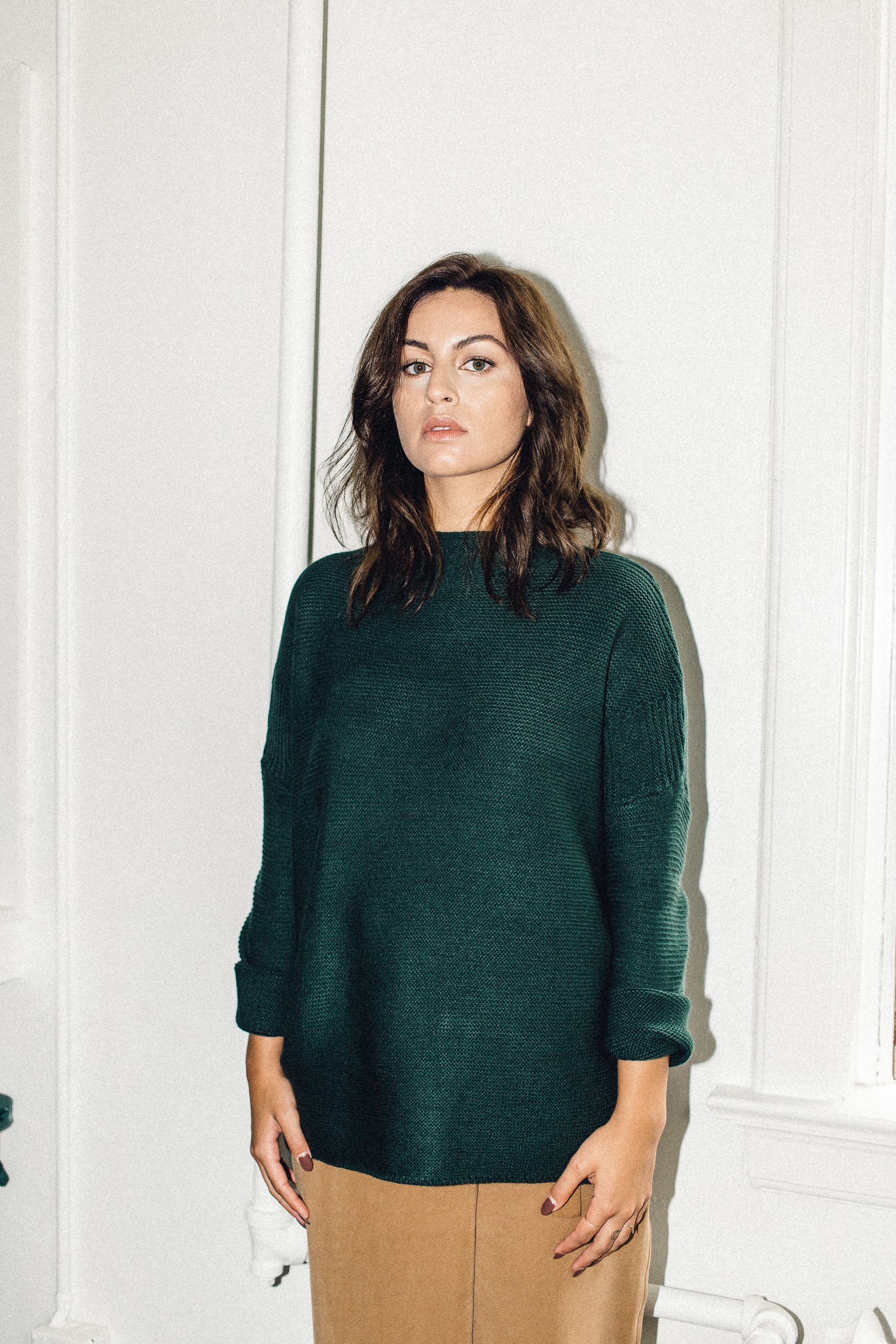 Scotland sweater green Knot sisters front   PIPE AND ROW.jpg