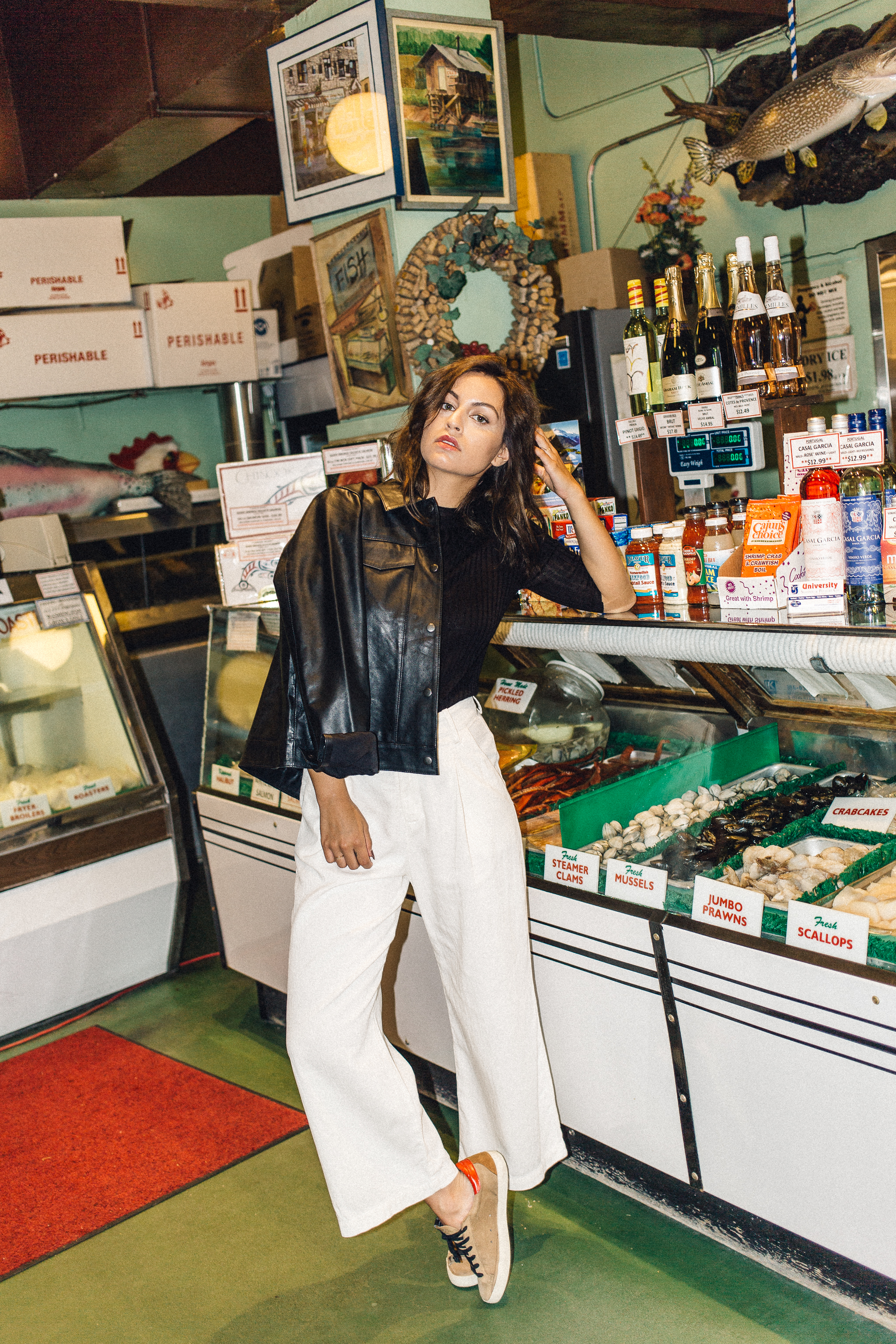 Lola trouser bone lacausa, cam leather jacket lacausa, achro | pipe and row fish market.jpg
