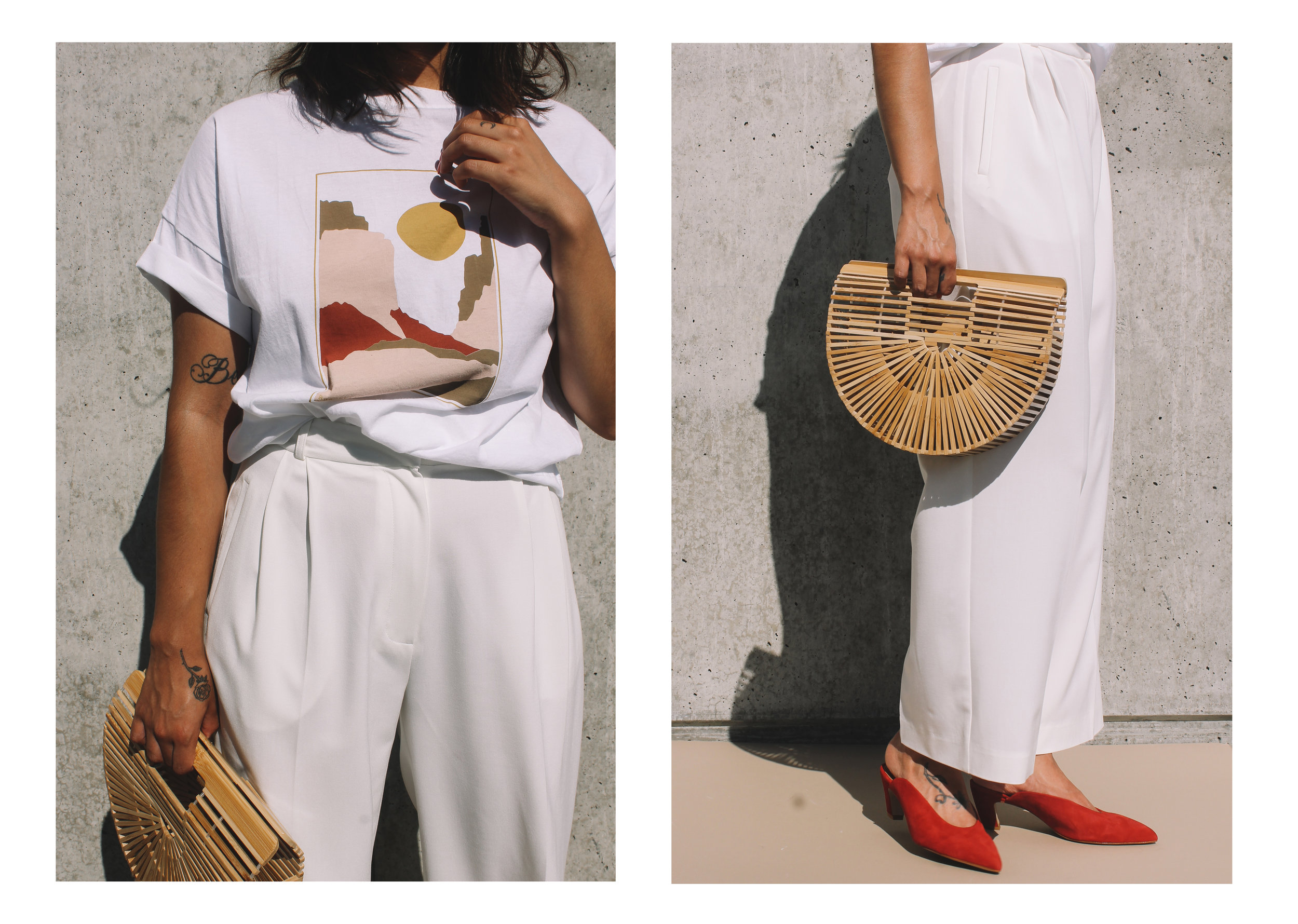 Rue Stiic Canyon Top Mijeong Park Trousers Pipe and Row