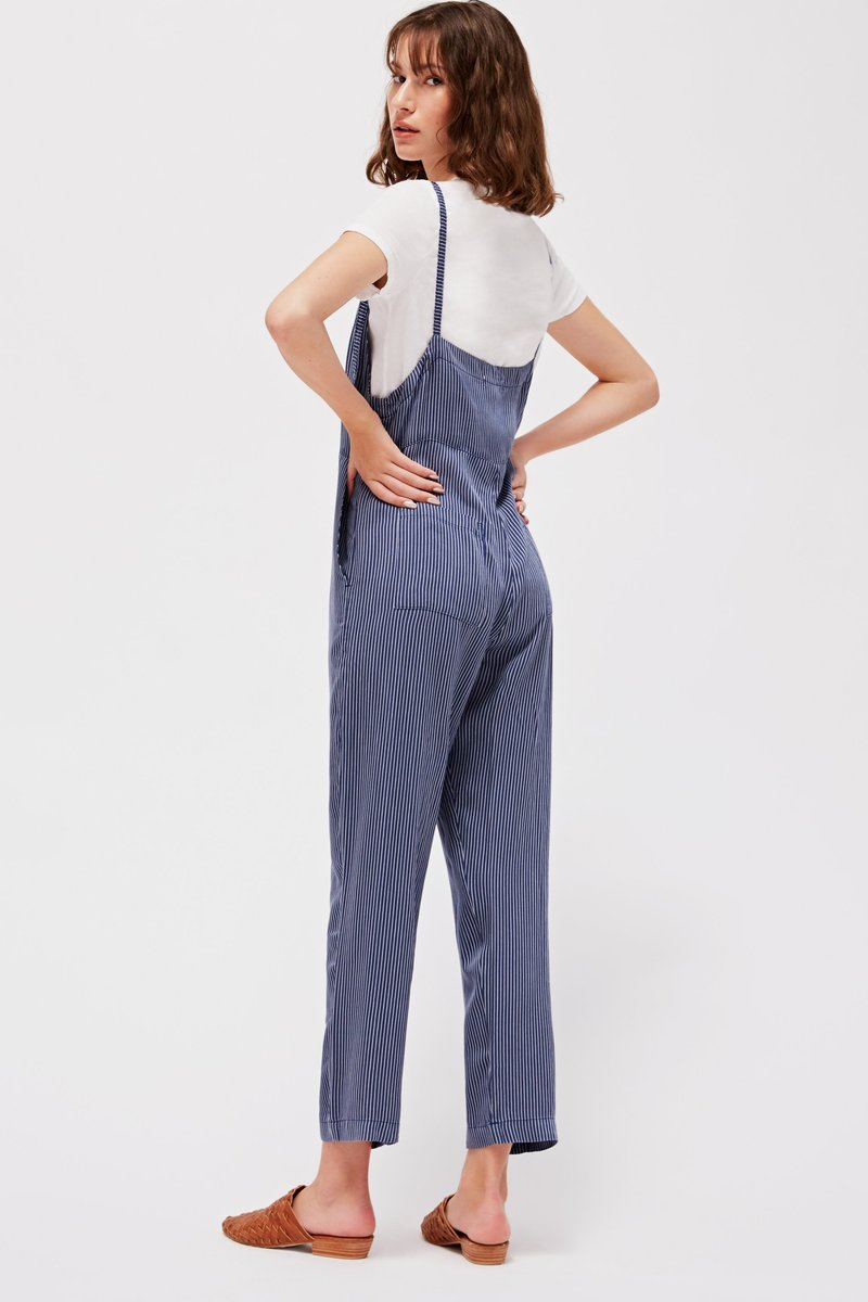 pipe and row lacausa harper overalls made in the usa slow fashion