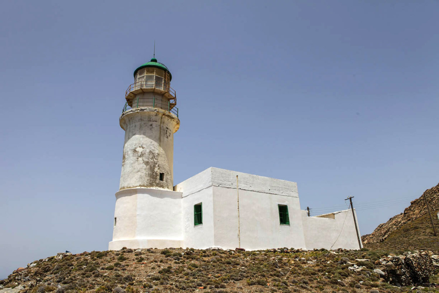 Copy of The Kavo Papas Lighthouse
