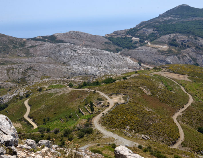 Copy of Ikaria's winding road network