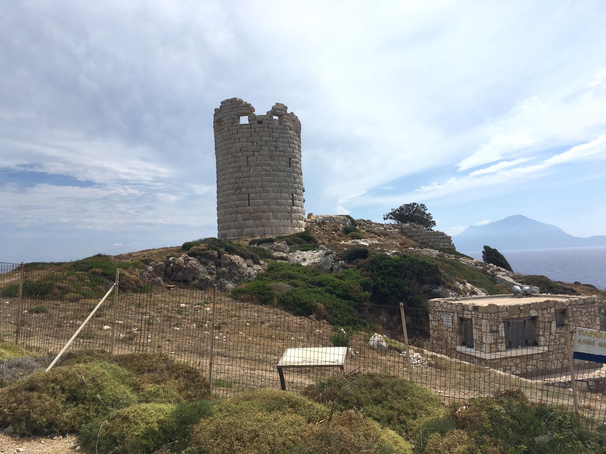 Drakano Tower (Ikaria Island)