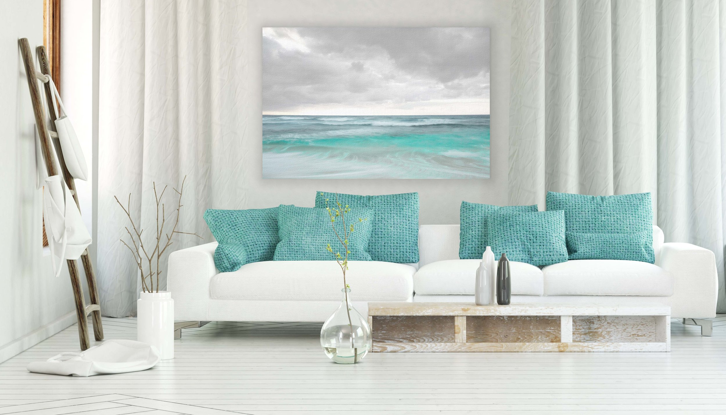 modern flow white couch with teal pillows.jpg