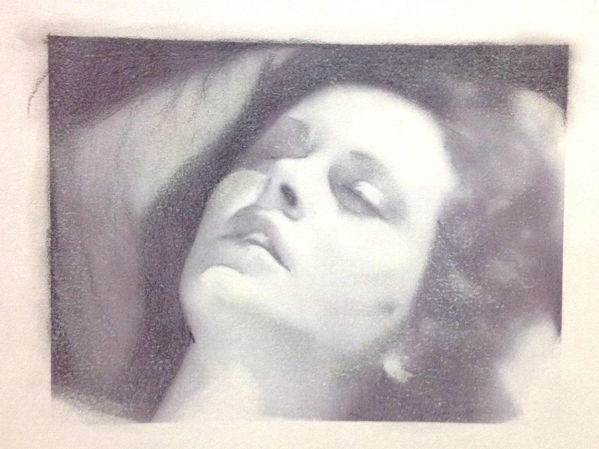 Portrait of Hedy Lamarr as Eva from the film Ecstacy (1933)