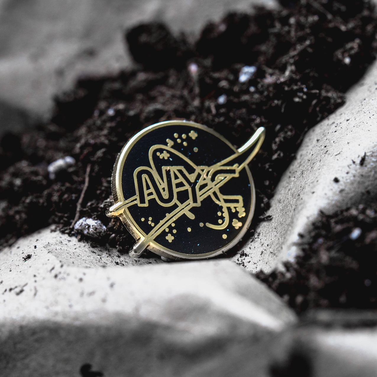 NYC Space Pin