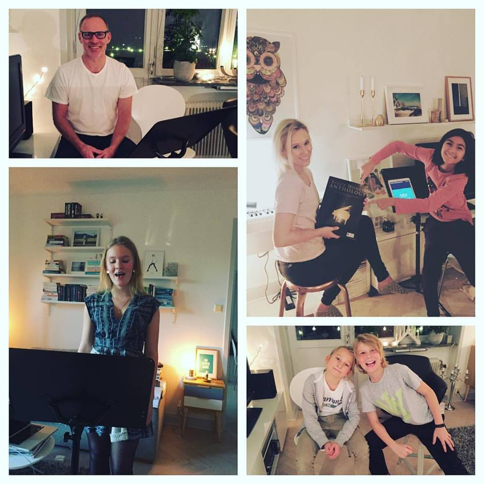Some of the wonderful people that have been vocal coaching lately!