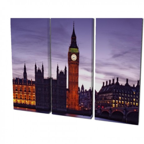 Split - Realizza un elemento d'arredo creativo e sorprendente! Le Tele Split permettono di suddividere un'unica immagine in più quadri. Realizzato in legno con spessore da 40 mm.Dimensioni: 3 tele 25 x 60 cm cadauna€ 139,90